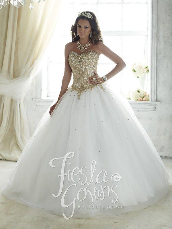 931a37993 opciones de Vestidos de 15 Años Blancos