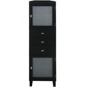 Tall Linen Cabinet | Moderna Corner Tall Cabinet   Linen Cabinets    Bathroom Cabinets .