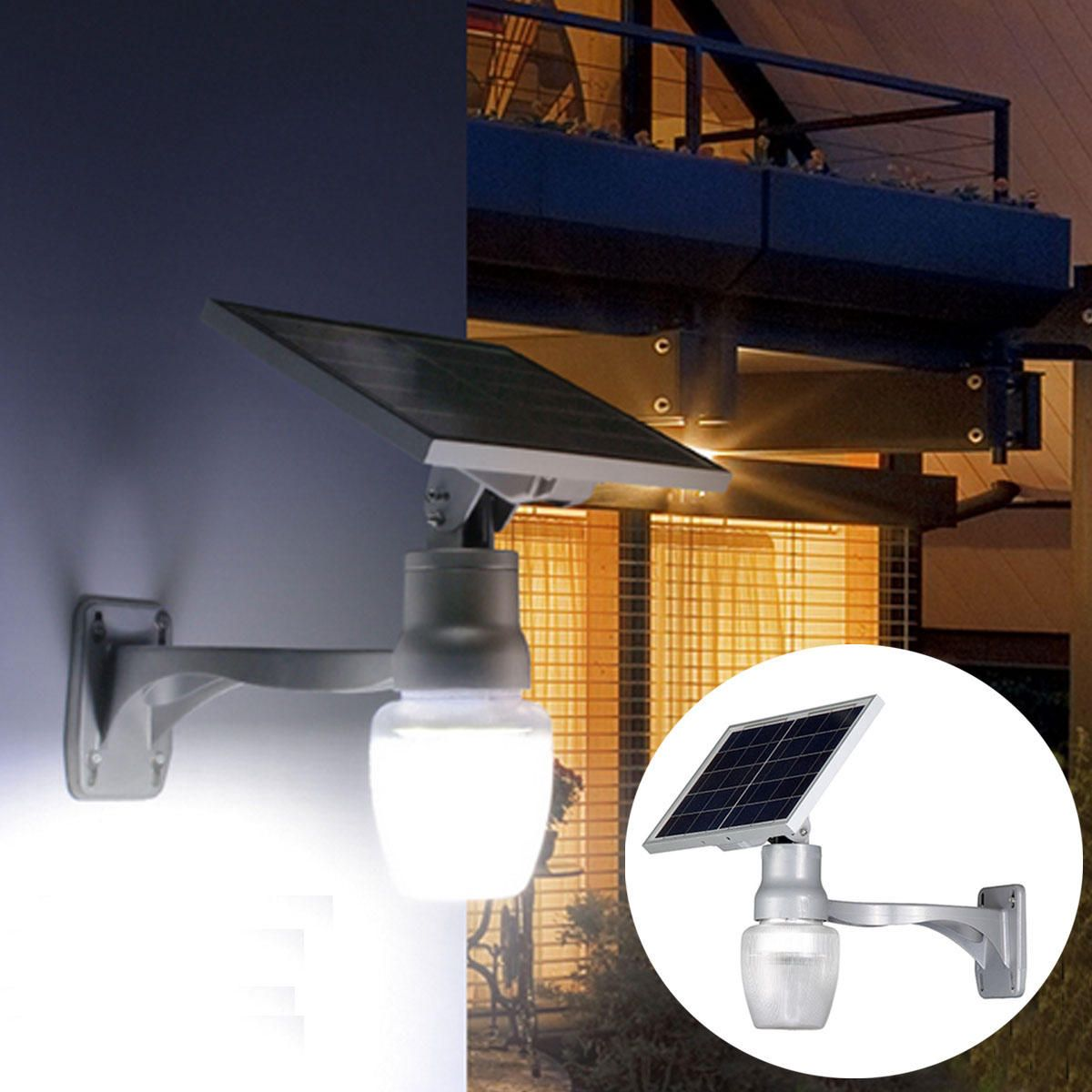 PIR Motion Sensor 44 Leds SMD Outdoor Garden Wall Shed Security Bright Light New