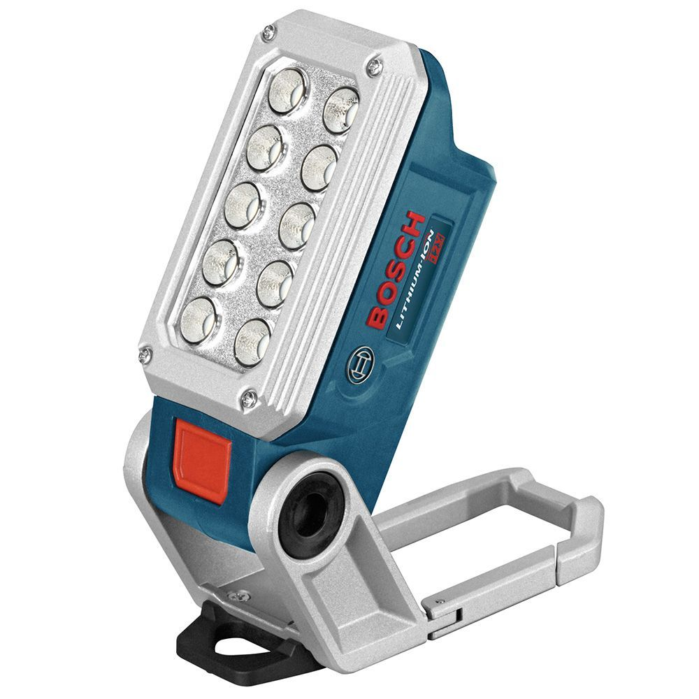 Bosch 12v Max Led Work Light Bare Tool Lampe Led Rechargeable Outils Bosch Lampe Torche