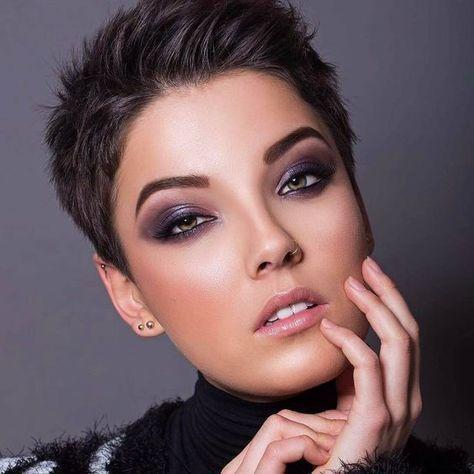 cute hairstyle ideas for long face shortpixiehaircuts
