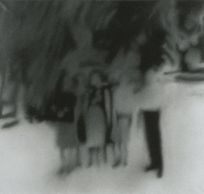 Group under Palm Trees, Gerhard Richter, 1996
