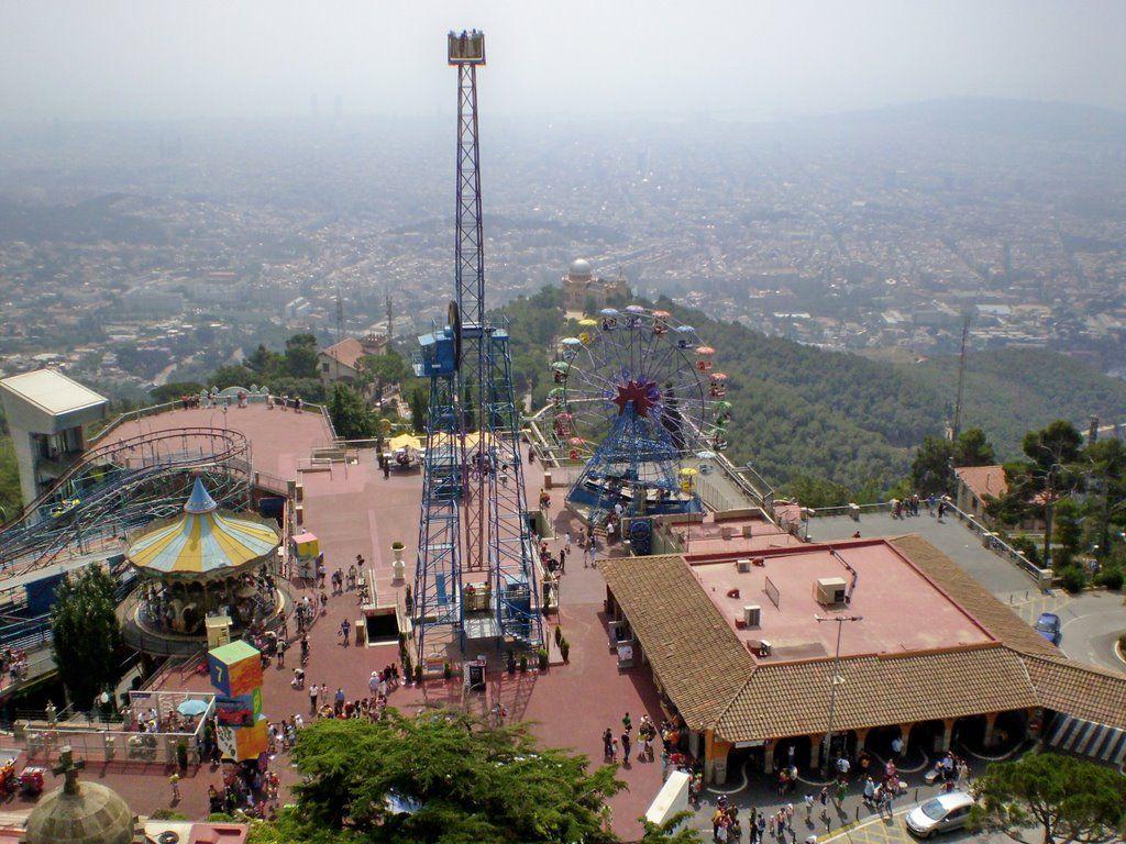Tibidabo - mountain