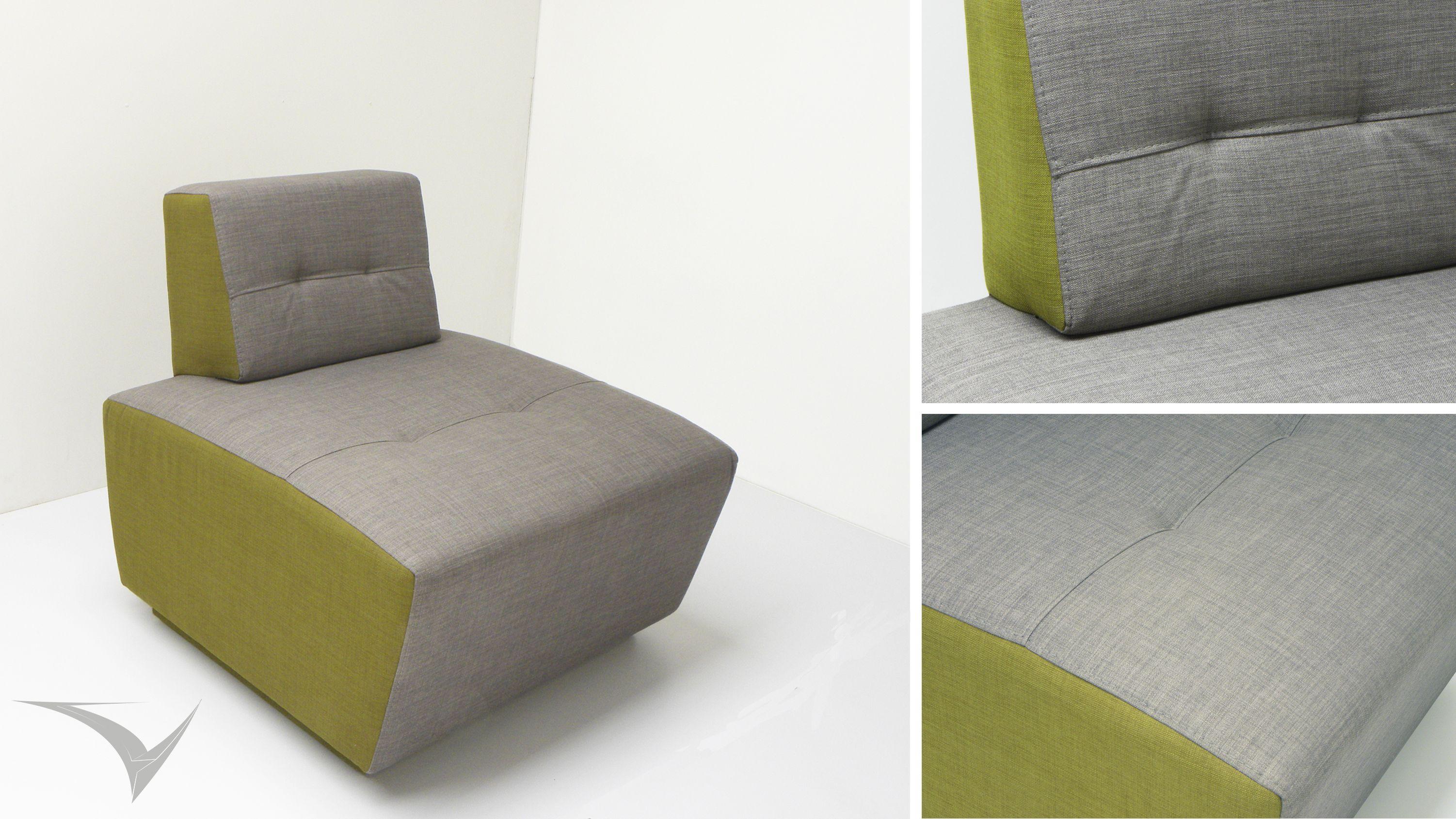 """""""SOG"""" Sofa inspirado en las puntadas y abotonados  clasicos españoles reinterpretados en formas y colores que estilizan el espacio. Fotografia: Fabian Virviescas https://instagram.com/vircorpdesign/"""