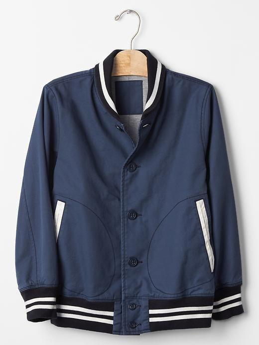Varsity bomber jacket   Gap   Little Boys   Pinterest