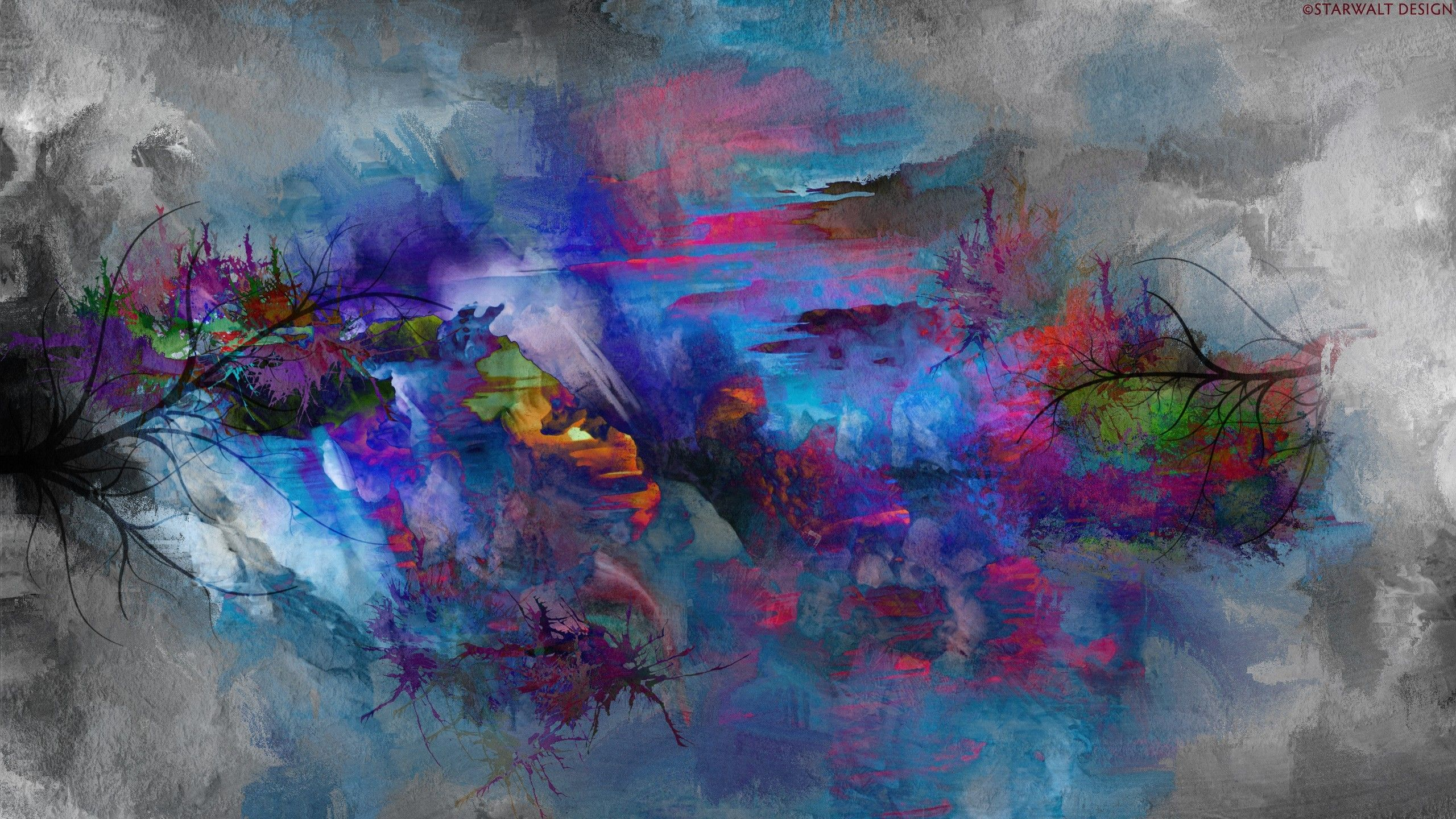Abstract painting artwork colorful wallpaper also mocah in rh pinterest
