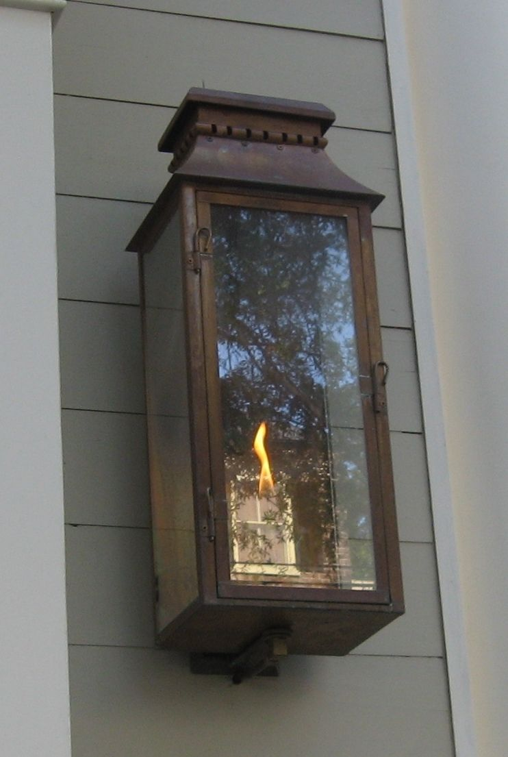 The Old Village Lantern  U2014 Gas Or Electric