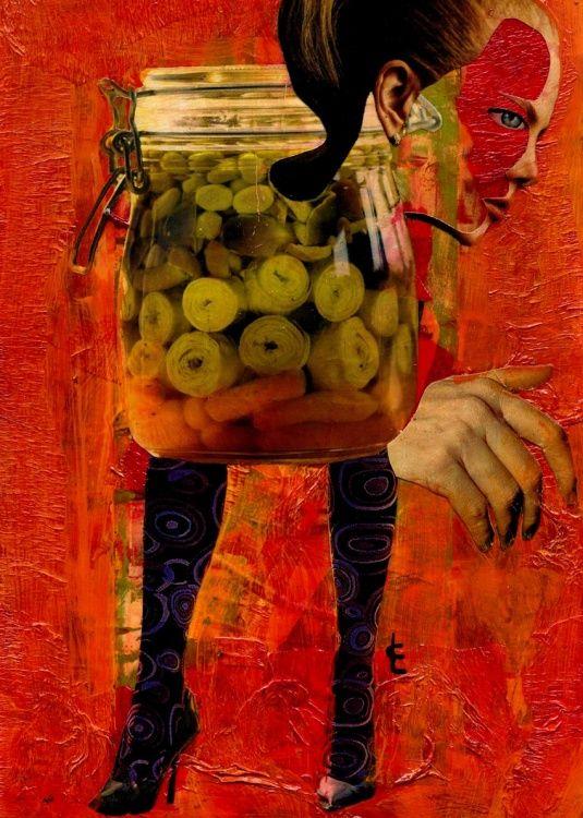 CARMEN  LUNA (©2013 carmen-luna.com) Pintura Mixta http://www.carmen-luna.com