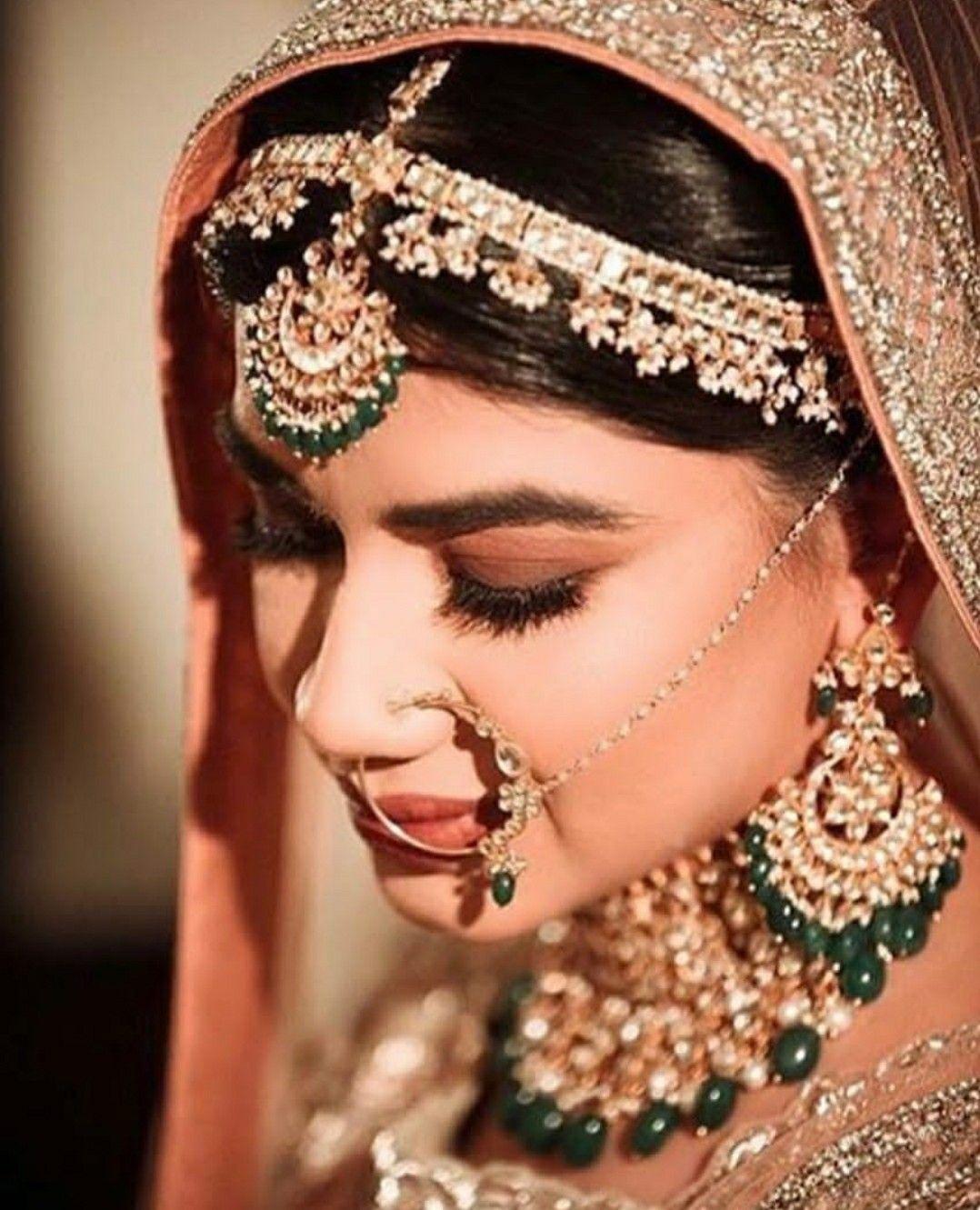 Punjabi jewellery Indian wedding bride, Bridal makeover