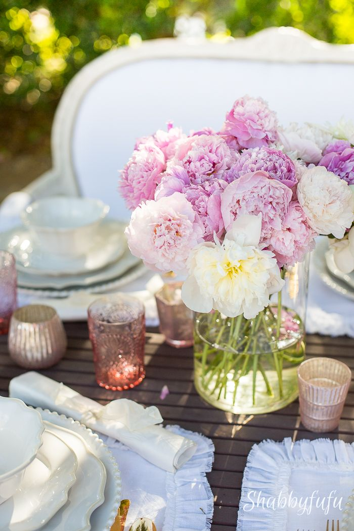 Decor Ideas Table Setting For Your Mother S Day Table Brunch