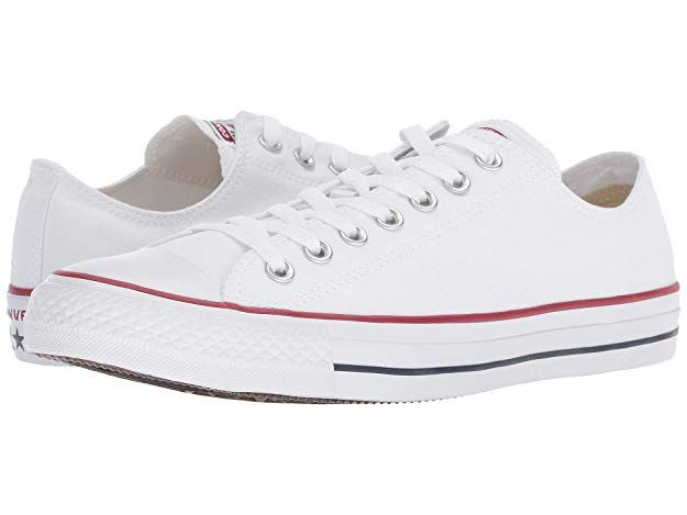 d9eb4f536c04 Converse Unisex Chuck Taylor All Star Low Top Sneakers - Optical White -  7.5 B(