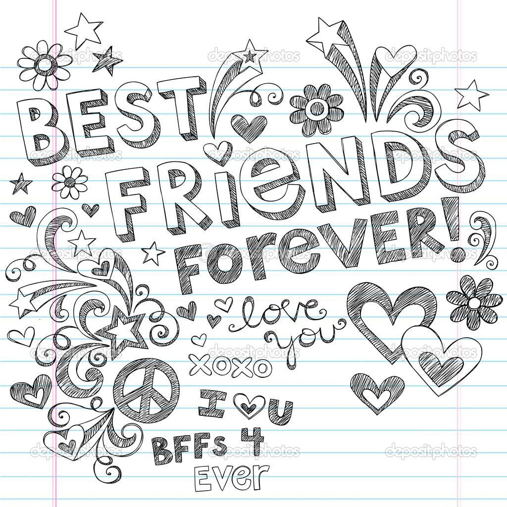 Best Friends Forever Coloring Pages Coloring Pages & Pictures