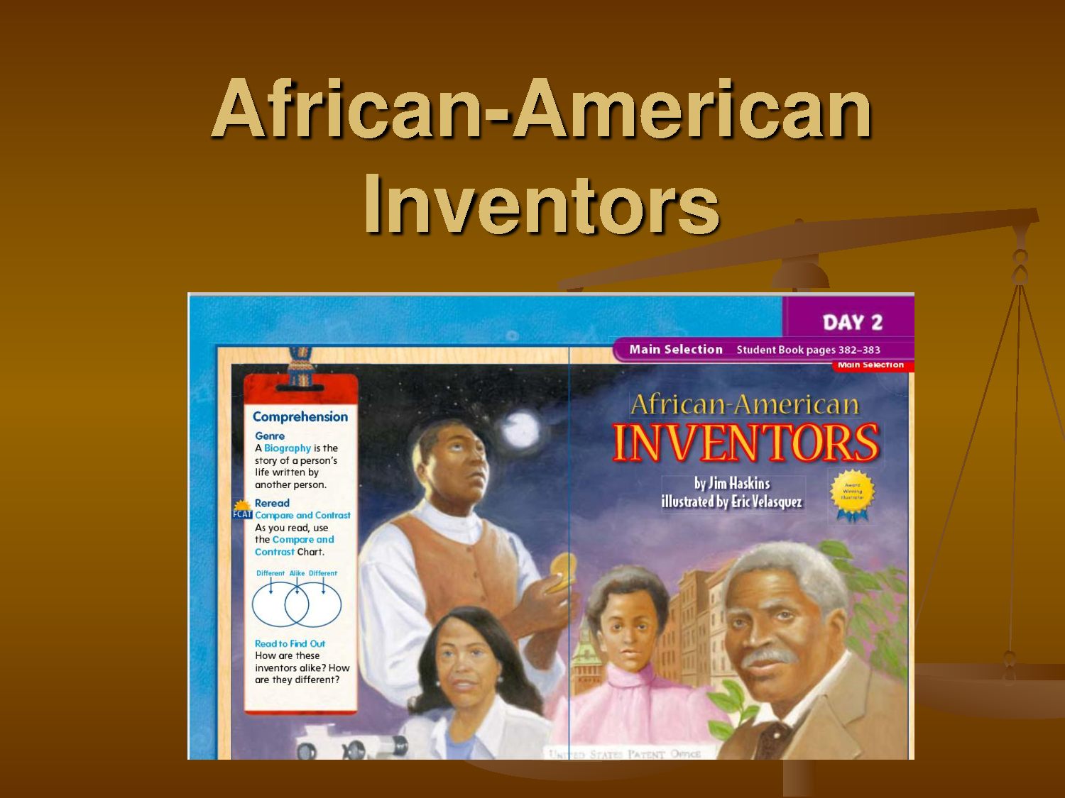 African American Inventors And Graphs Oh My