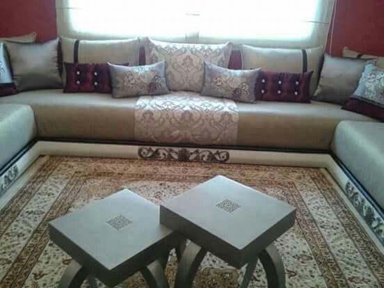 Moroccan living room   Moroccan Houses decoration   Salon ...