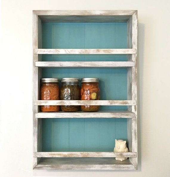 The Mansfield Spice Rack No 103 Wall Mounted Or Countertop