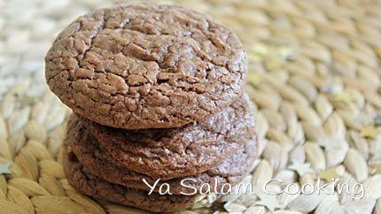 كوكيز النوتيلا السهلة Nutella Cookies Nutella Cookies Easy Nutella