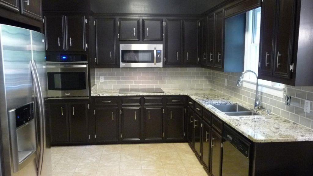 Kitchenkitchencolorswithdarkcabinetskitchenpaintcolorinside Delectable Backsplash Ideas For Dark Cabinets Design
