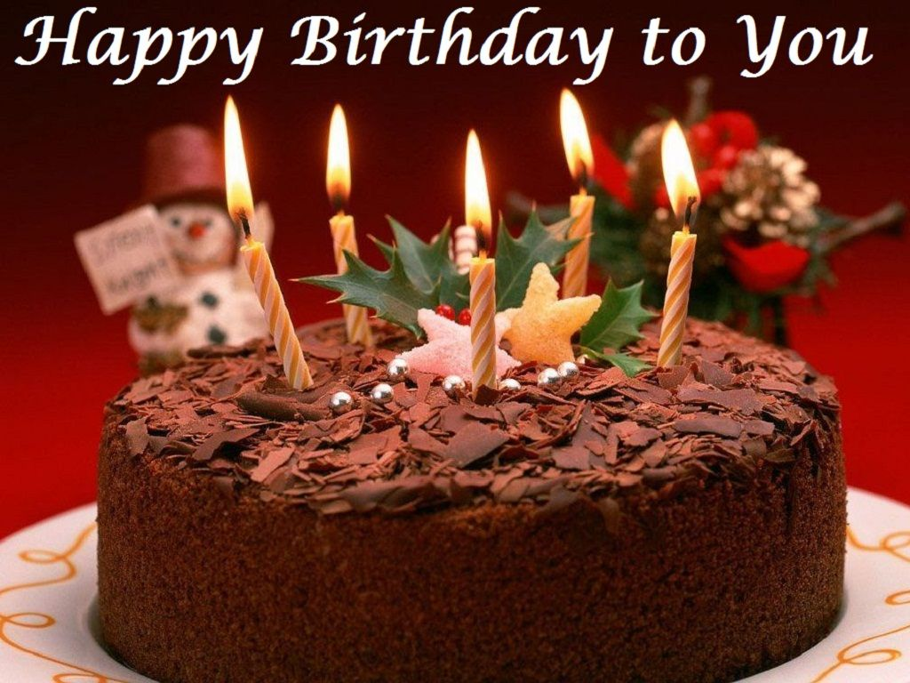 Happy birthday chocolate cake with strawberries | Hd Wallpaper ...