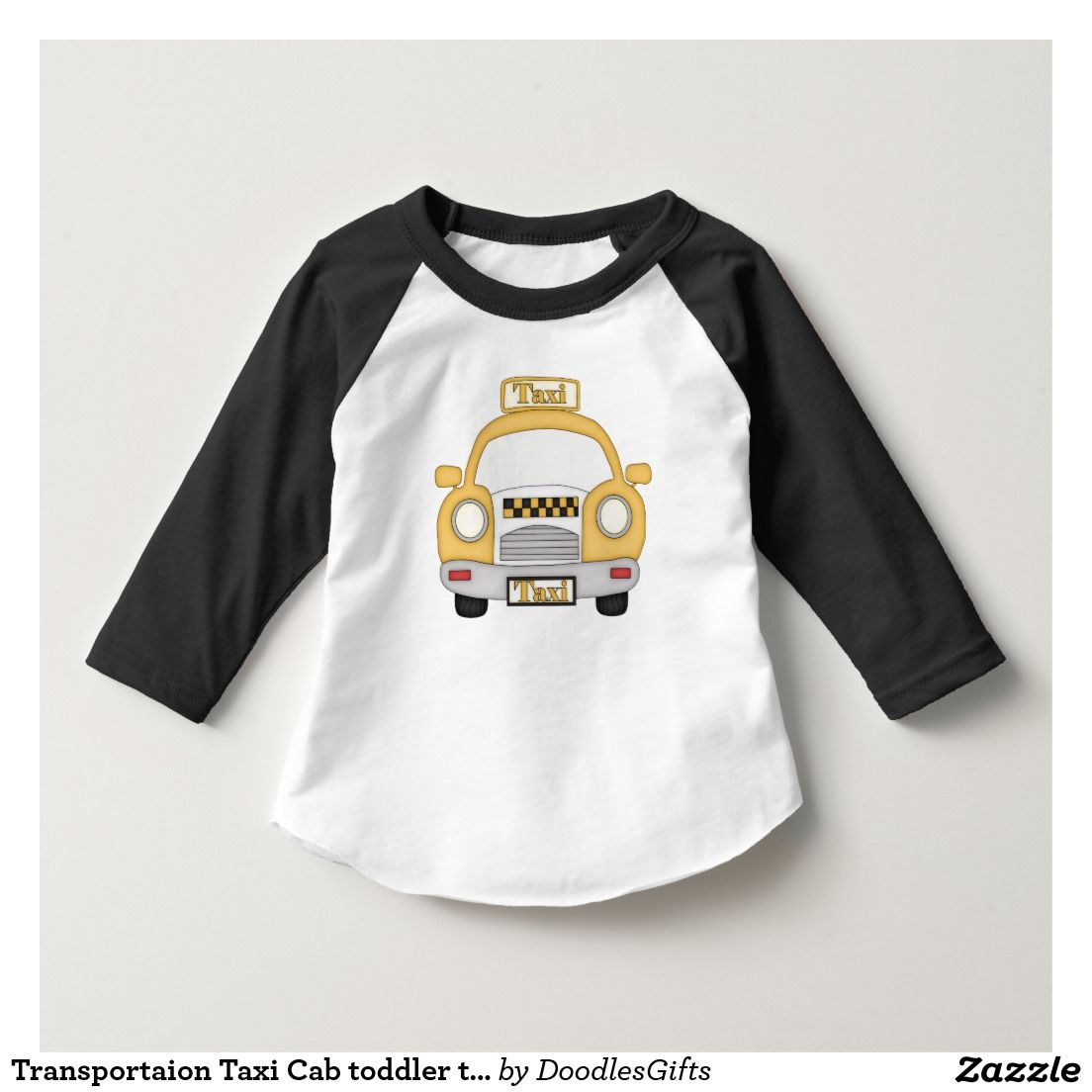 ae907753ae724 Transportaion Taxi Cab toddler t-shirt | Zazzle.com | All Shop Sales ...