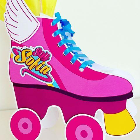 Detalhes Festa Festainfantil Festakids Festasexclusivas Festalinda Festadecrianca Festacriativa Roller Skating Party Soy Luna Logo Skate Party