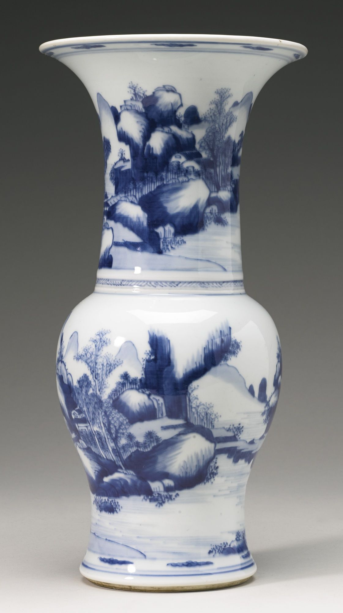 A blue and white landscape yenyen vasebrqing dynasty 19th a blue and white landscape yenyen vasebrqing dynasty 19th reviewsmspy