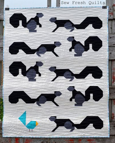 Squirrels in the Park - Baby Quilt Pattern