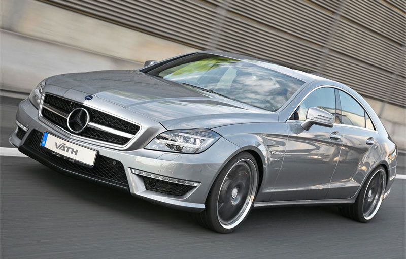 Mercedes Cls63 Amg By Vath Mercedes Cls Amg Car 4 Door Sports Cars