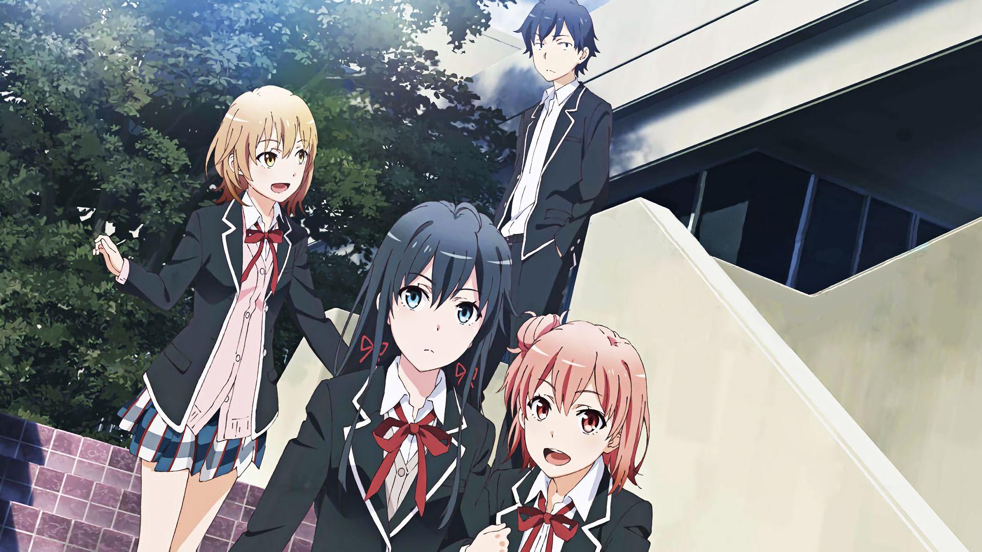 Anime My Teen Romantic Comedy Snafu Yukino Yukinoshita Hachiman