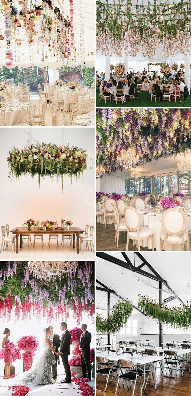 Hanging Wedding Flowers The Biggest Boldest Floral Trend For