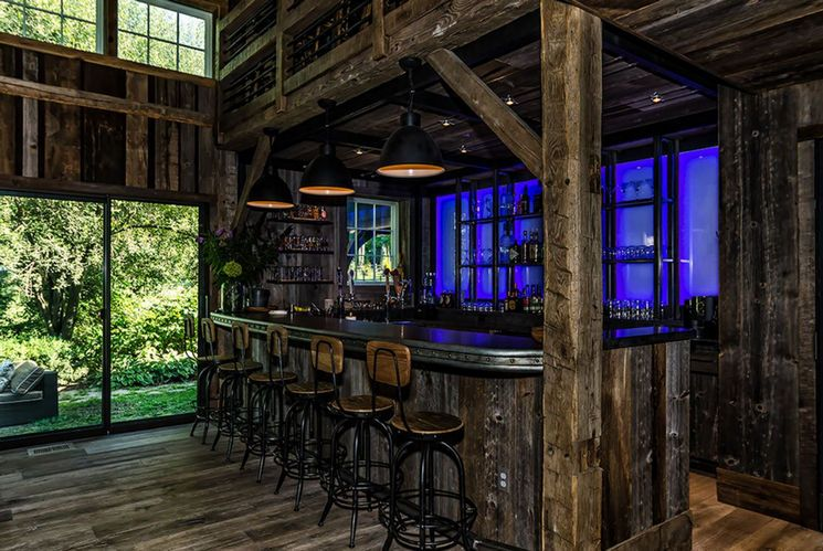 This Converted Barn Might Be The Coolest Man Cave We Have Ever