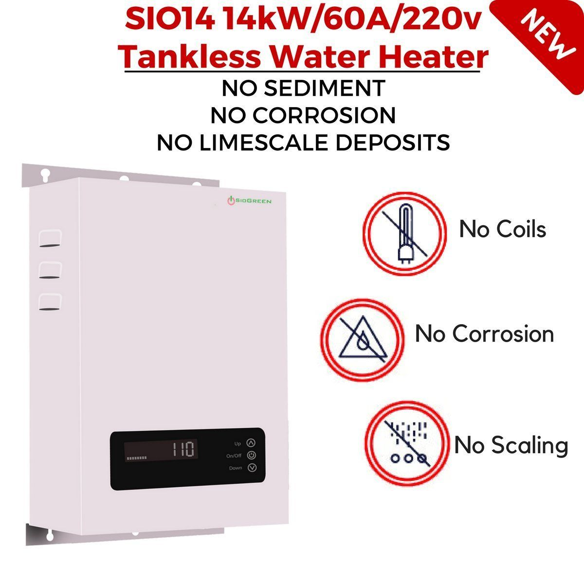 6 Best Electric Tankless Water Heater Plus 2 To Avoid 2020 Buyers Guide Freshnss In 2020 Tankless Water Heater Water Heater Heater