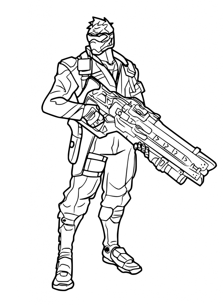 Overwatch Coloring Pages Best Coloring Pages For Kids Coloring Pages For Kids Coloring Pages Overwatch
