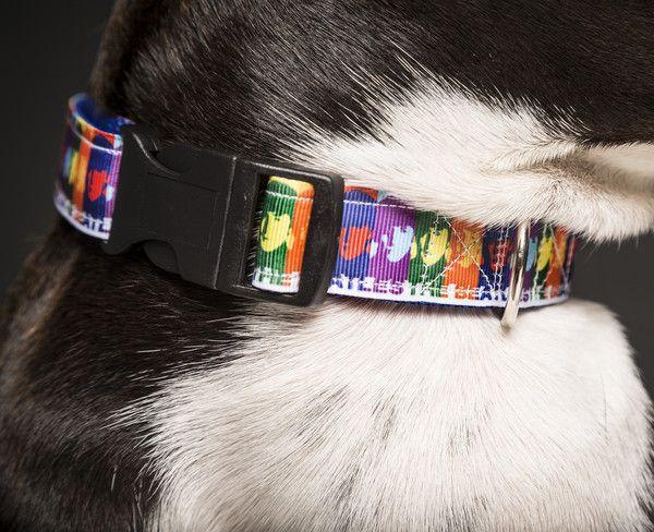 The Beatles Dog Collar Funky Dog Collars Hippy Dog Collars 60s