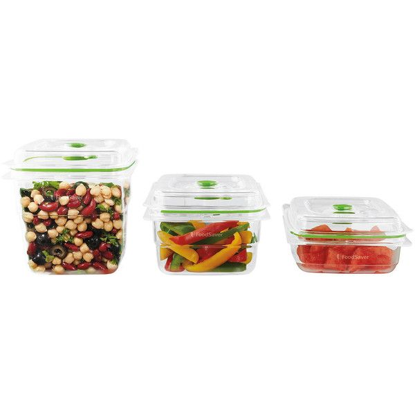Foodsaver Fa3sc358 000 3 Pc Fresh Container Set 40 Liked On