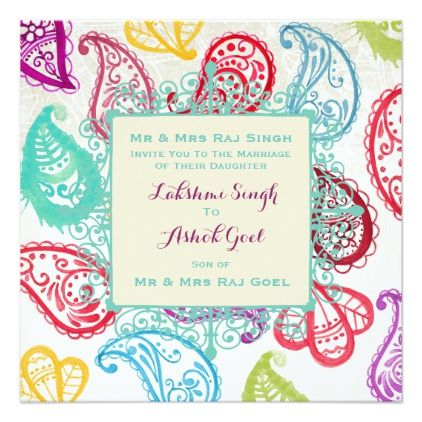 Template paisley hindu wedding invitation templates modern template paisley hindu wedding invitation templates modern stopboris Image collections