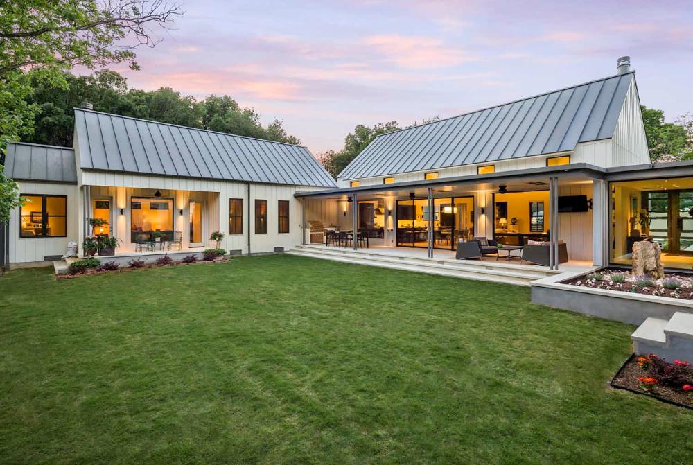 Dream House Tour An exceptional modern farmhouse in rural Texas