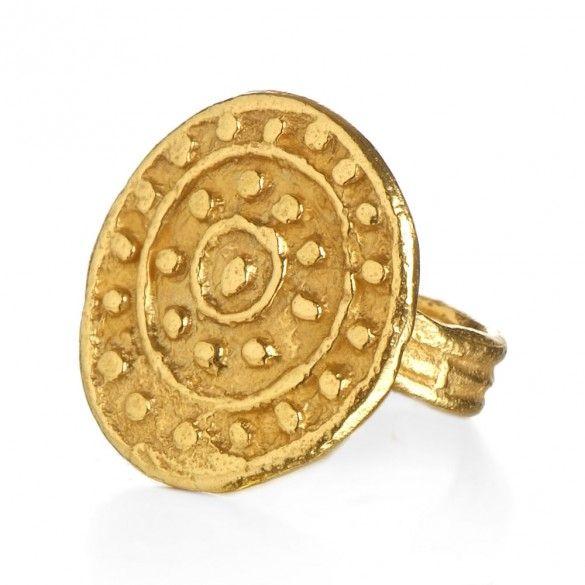 Etruscan Mandala Ring