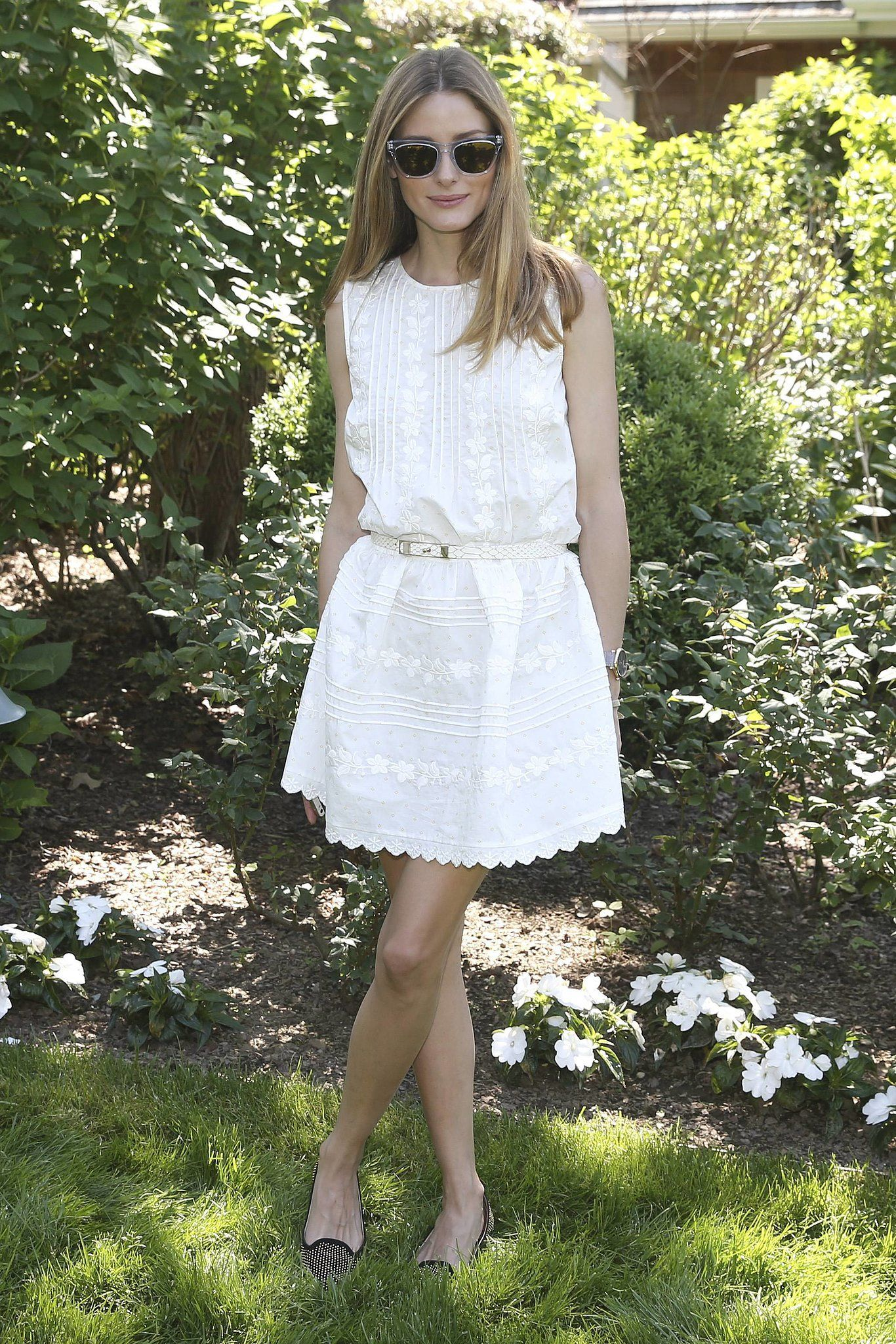 Olivia's LWD is the kind we'd live in all Summer. Sweet embroidery and a classic fit-and-flare shape make it easy to dress up or down for a ...