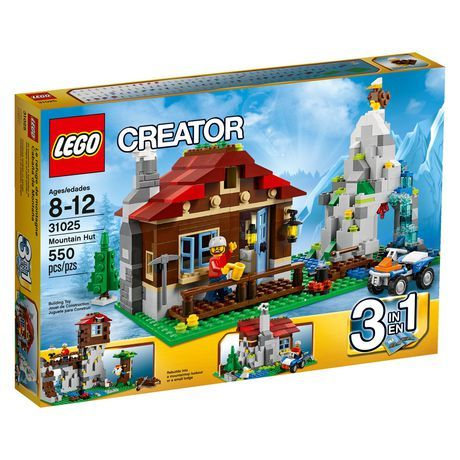LEGO Creator - Mountain Hut!! Been wanting that for ever!