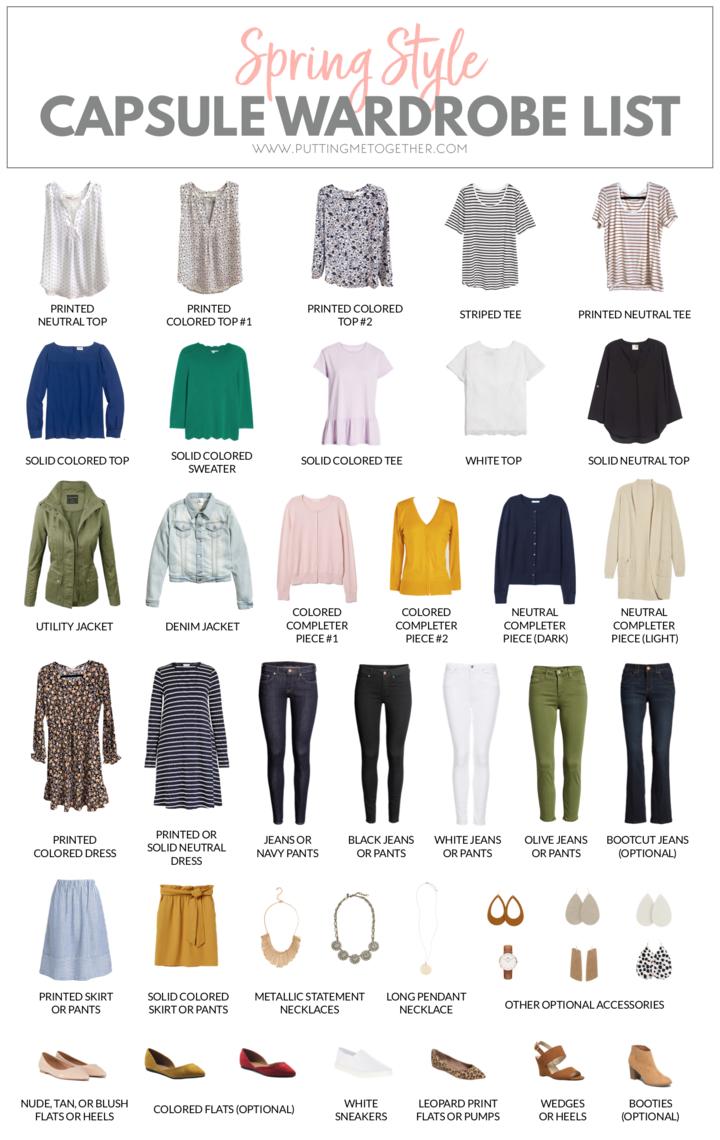 spring 2019 challenge outfit guide en 2019 inspi grc garde robe minimaliste garde robe