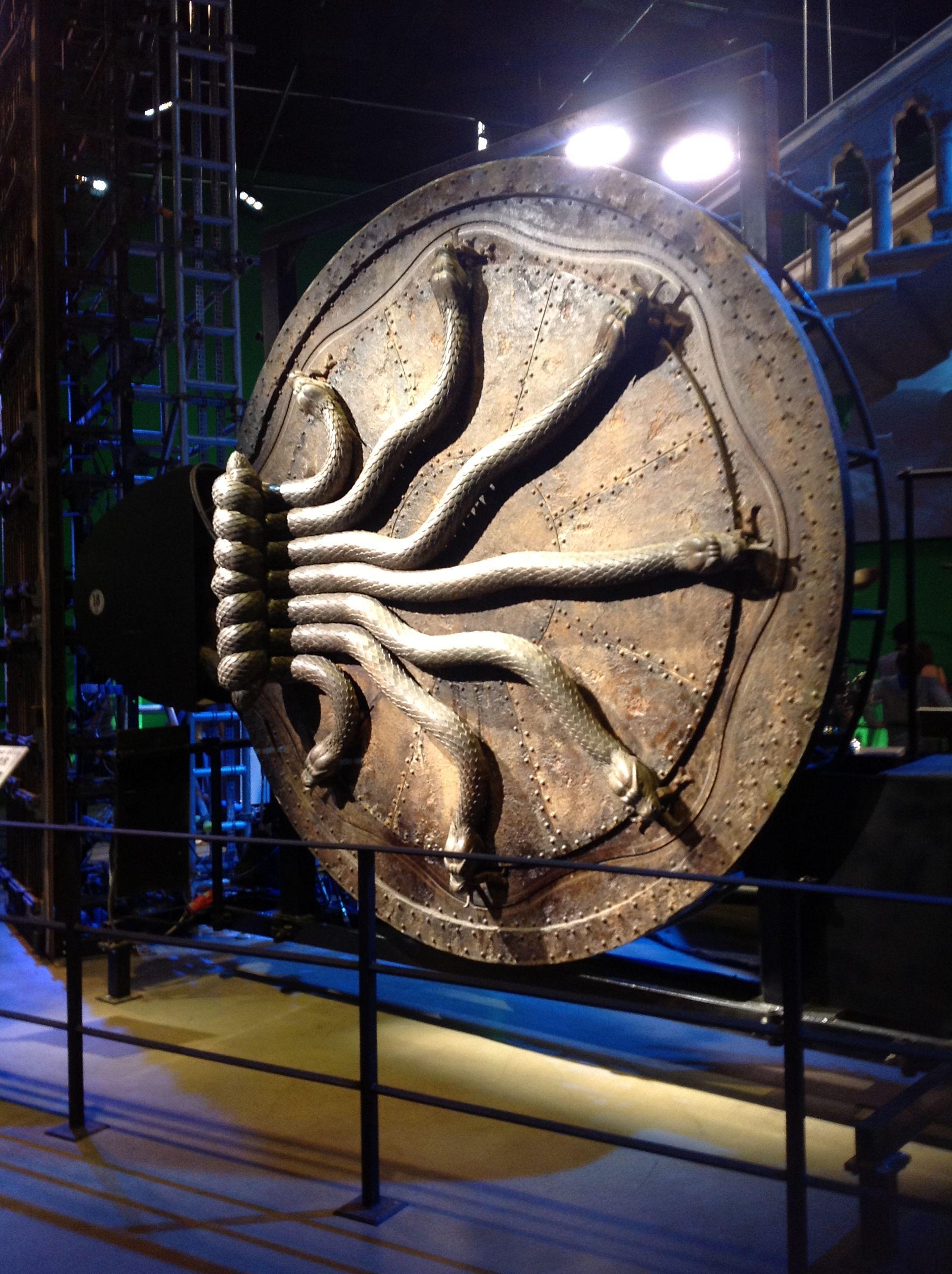 Chamber of Secrets Door Harry Potter Studio Tour Harry