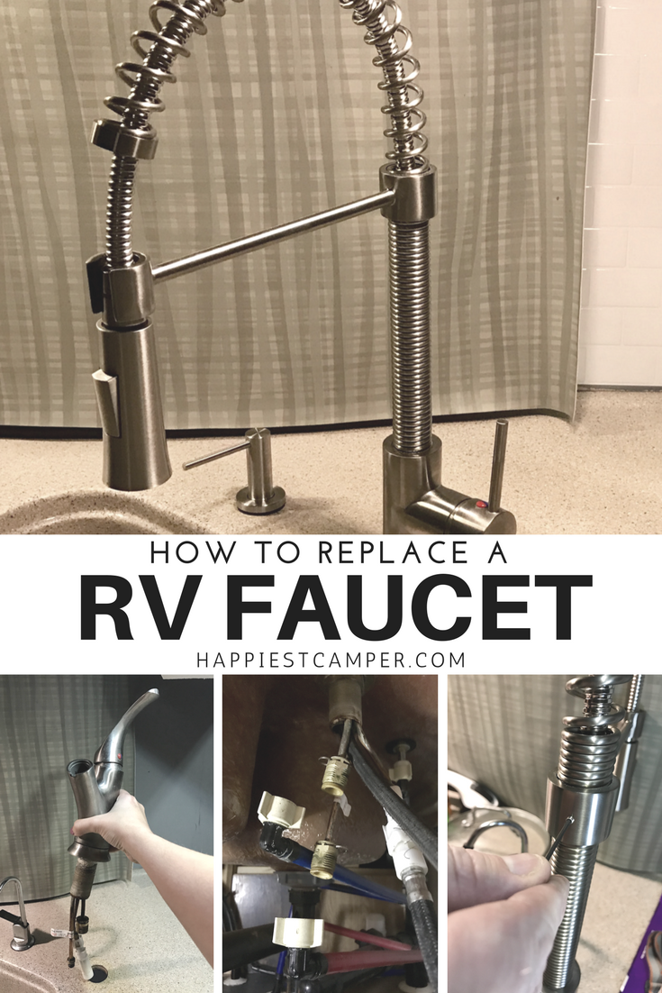 How to Replace a RV Faucet | Kitchen faucets, Rv and Faucet