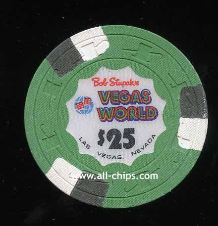 $25 Bob Stupaks Vegas World 1st issue 1980s