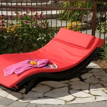 Chaise Longue Contemporaine Double Outdoor Decor Home Decor Furniture