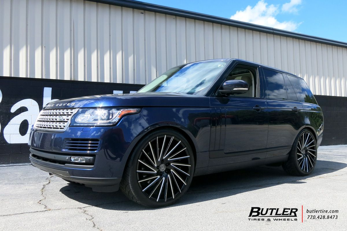 Land Rover Range Rover With 24in Lexani Wraith Wheels Land Rover Range Rover Supercharged Range Rover