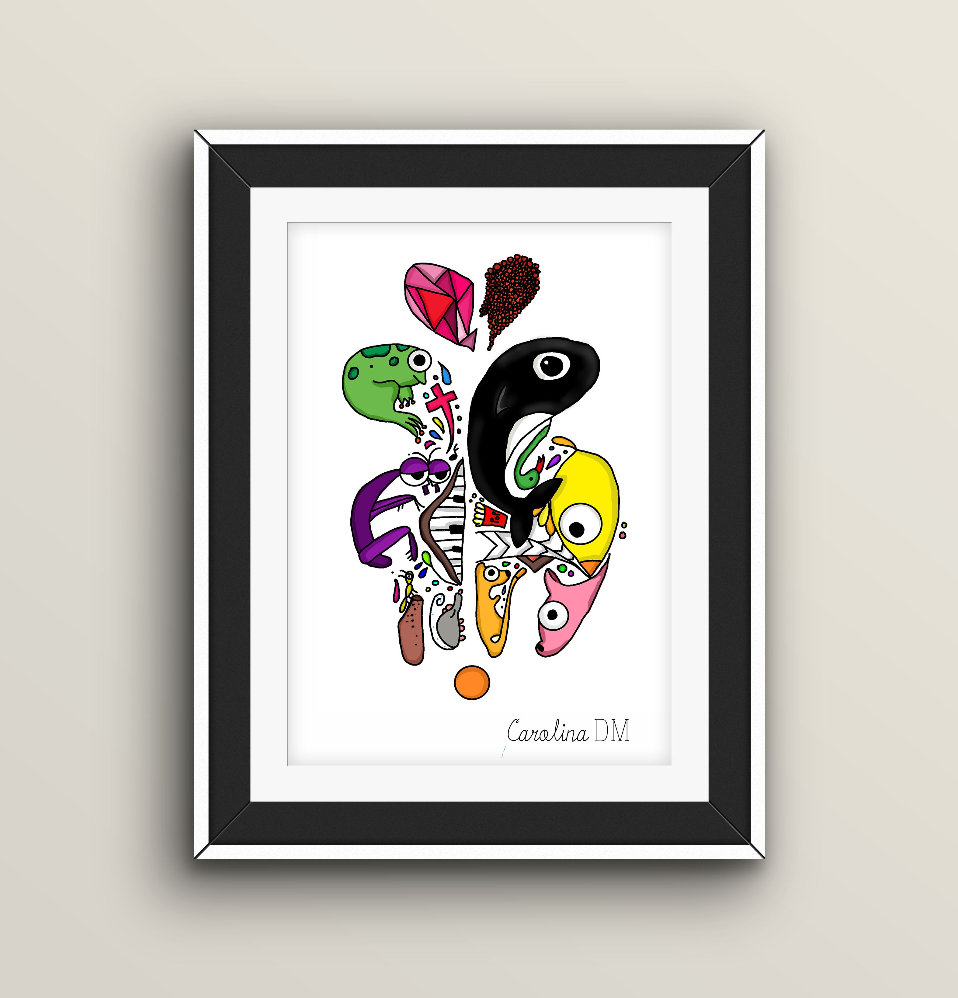 Gemelos #ilustracion #illustracion #mexico #cuu #carolinadm #ink #diseño #desing #diseñografico #art #animals #animales #ilustracionmexico #chihuahua #dibujo #animación