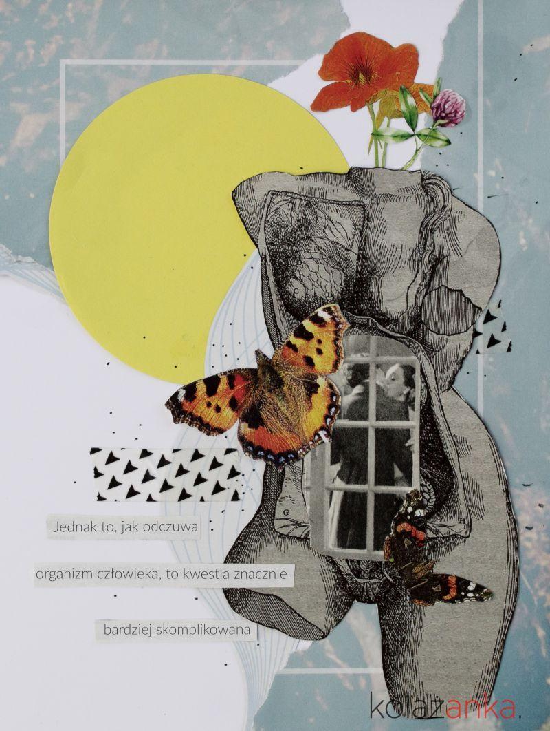 Newspaper Collage Kolaz Z Gazet With Images Kolaze Kolaz Natale