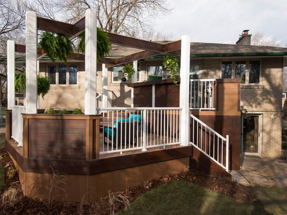Before And Afters Of Backyard Decks, Patios And Pergolas