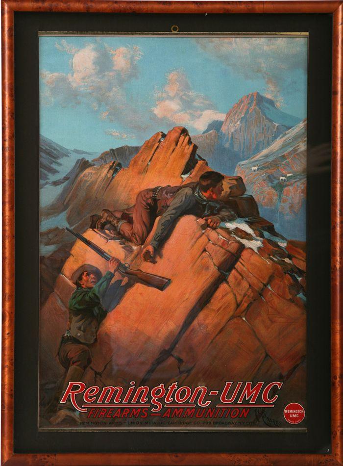 Remington Calendar Art : Calendar top remington umc firearms ammunition