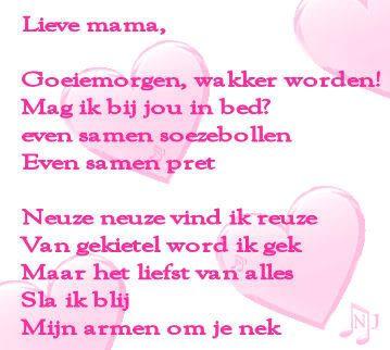 Moederdag Gedicht Google Zoeken Moeder Kind Gedichten